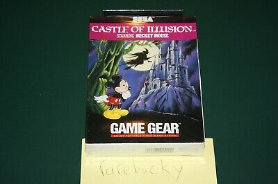 AU1402.49 • Buy Castle Of Illusion Starring Mickey Mouse (Sega Game Gear) NEW SEALED NEAR-MINT