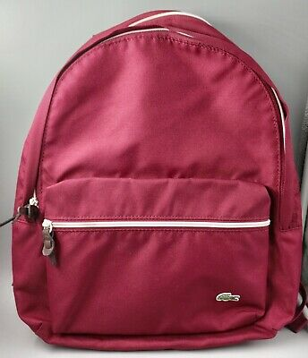Lacoste Backpack Maroon • 40£