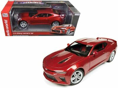 $28.25 • Buy 2016 Chevrolet Camaro SS - Red - 1:18 Scale Model By Autoworld