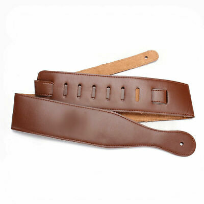 $ CDN10.86 • Buy Adjustable Guitar Strap Belt Thick For Electric Acoustic Bass Bands Soft G4L1