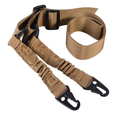 $ CDN6.06 • Buy 2Two Point Rifle Sling Adjustable Hunting Bungee Tactical Shotgun STYLE