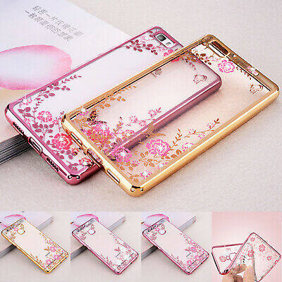 Case For Huawei P20 Lite P10 P8 Luxury Glitter Shockproof Silicone Phone Cover • 1.99£