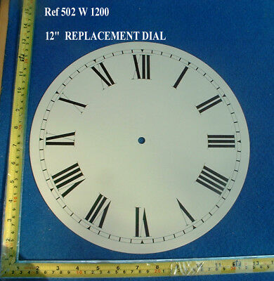 £19.99 • Buy Ref: 502 - Replacement 12 Inch Dial Face For Fusee Dial / American Wall Clock