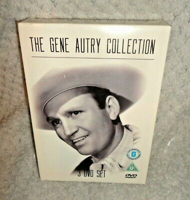 The Gene Autry Collection (DVD, 2008, 3-Disc) • 12.99£