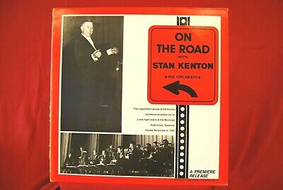 Stan Kenton And His Orchestra - On The Road - Vinyl LP Artistry AR 101 • 2.99£