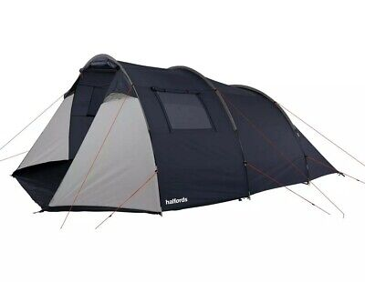 Halfords 6 Person  Tunnel Tent 2 Rooms Large Family Tent  • 120£
