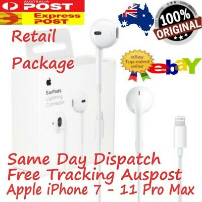 AU32.95 • Buy High Quality Apple EarPods Headphones Earbuds Earphones For IPhone 7-11 Pro Max