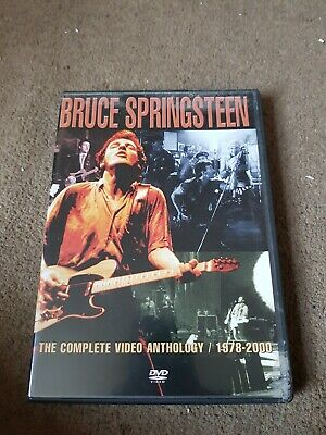 Bruce Springsteen: The Complete Video Anthology - 1978-2000 DVD (2003) Bruce • 4£