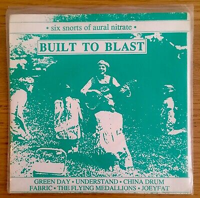 Built To Blast Green Day And Various Fierce Panda Double 7  Vinyl Insert 1994  • 5£