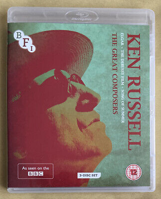 Ken Russell The Great Composers 3-Disc Set Elgar The Debussy Film Song Of Summer • 0.99£