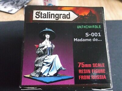 Stalingrad - 75mm Resin Female Figure - Madame De ... • 26£