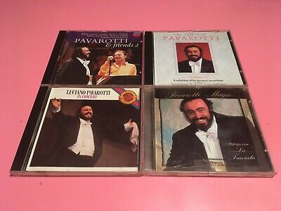 $ CDN9.99 • Buy Pavarotti Lot Of 4 CDs (Essential,In Concert,& Friends,Magic)Immaculate!!