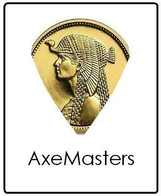 $ CDN12.96 • Buy EGYPT COIN Guitar Pick - Authentic Gold Brass Cleopatra Egyptian Plectrum