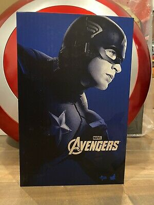 $106.50 • Buy Hot Toys Captain America MMS174 1/6 Avengers Sideshow Please Read: