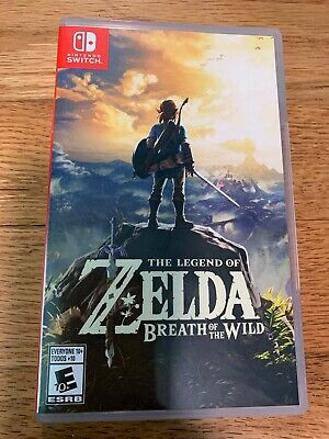 $49 • Buy The Legend Of Zelda Breath Of The Wild Nintendo Switch Used