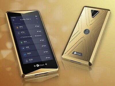 AU250 • Buy New ELLIPAL GOLDEN Titan Crypto Wallet ⭐ Cryptocurrency Hardware Wallet ⭐