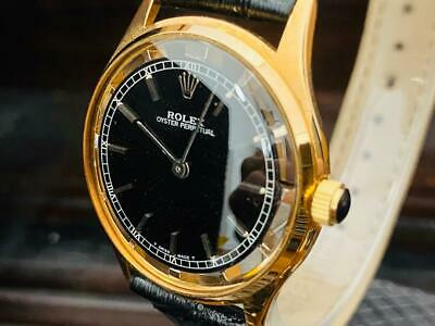 $ CDN2652.48 • Buy Auth Rolex Watch Oyster Perpetual Cal.1400 Manual Windings Vintage 35 Mm F/s