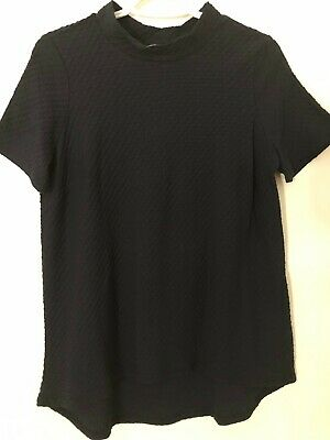 AU44.95 • Buy NWT SUSSAN CLOTHING Textured Funnel Neck Top NightSky XS ***SEND YOUR OFFER NOW*