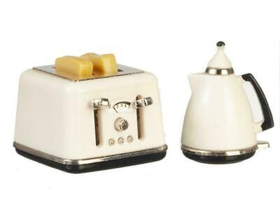 Dolls House White Toaster & Kettle Set 12th  • 11.50£