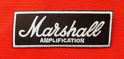 £2.99 • Buy Marshall Amplification Guitar Amp Band Music Rock Sew On Iron On Patch Badge