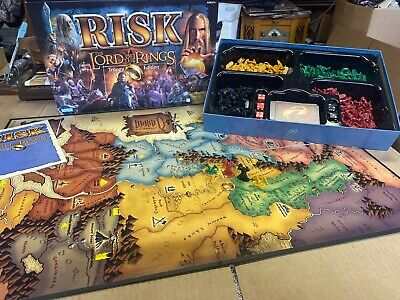 $16.99 • Buy The Lord Of The Rings Risk Trilogy Edition Complete With Ring