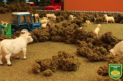 Brushwood Toys 1:32 Scale Hedge And Shrub Foilage Bt2096 For Diorama (mib)  • 12.99£