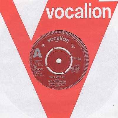 Challengers Walk With Me  Vocalion VN 9270 Soul Northern Motown • 35£