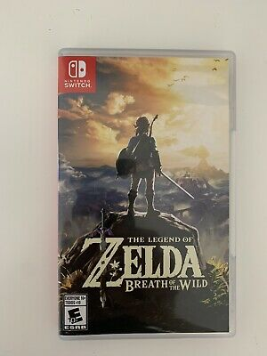$30 • Buy The Legend Of Zelda Breath Of The Wild (2017, Nintendo Switch)