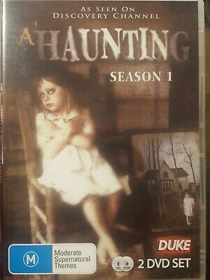 £21.81 • Buy A Haunting Rare Dvd Documentary Tv Series 1 Dvd Set Season One Discovery Channel