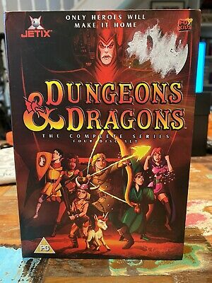 Dungeons And Dragons - Complete (DVD, 2004, Animated, Box Set) • 5£