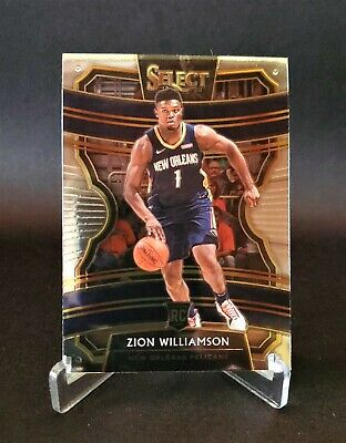 $78.85 • Buy 2019-20 Panini Select - ZION WILLIAMSON - Concourse ROOKIE RC #1 - Pelicans 🔥