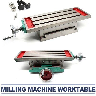 £112.46 • Buy Precision Cross Milling Machine Compound 2 Axis 4 Ways Working Table 450*170mm