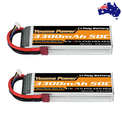AU63.01 • Buy Youme 3S 11.1V 3300mAh LiPo Battery 50C Deans For RC Helicopter Car Drone Boat