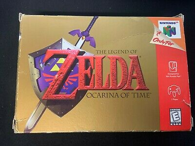 $74.99 • Buy Legend Of Zelda Ocarina Of Time Nintendo 64 N64 Complete In Box With Manual CIB