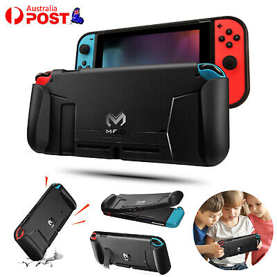AU13.59 • Buy Soft TPU Case Shell For Nintendo Switch NS Console Handle Grip W/ Game Card Slot