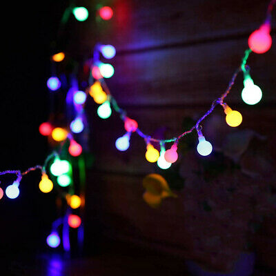 Fairy Lights Mains Powered 100/200 LED Globe String Light Plug In Party Lighting • 12.65£