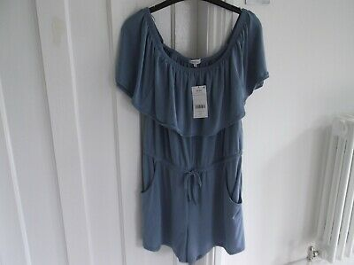 Bnwt Next Blue Bandeau Playsuit Size 12 Rrp £17 • 3.99£