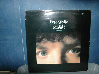 Pete Wylie-Sinful 12  P/S 1986 Tribal Mix • 1.99£