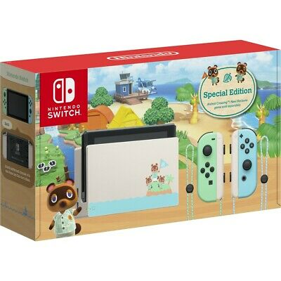 AU1095 • Buy Brand New Nintendo Switch ANIMAL CROSSING: New Horizons Special Limited Edition