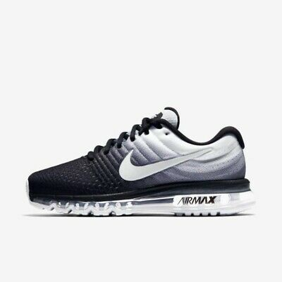 $139 • Buy Nike Air Max 2017 Men' Running Shoes Black And White