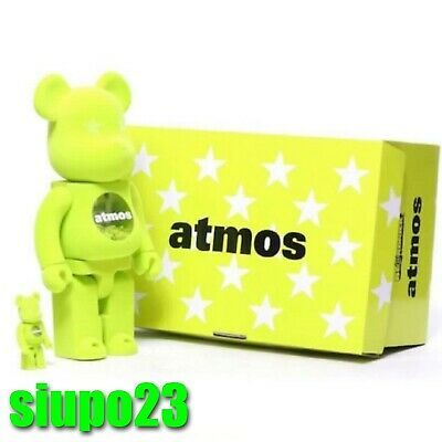 $299.99 • Buy Medicom 400% + 100% Bearbrick ~ Atmos Be@rbrick Lacoste Version