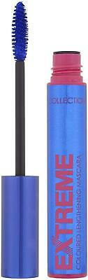 Collection Extreme Colour Lengthening Volumising Blue Mascara Makeup Cosmetics ! • 4.47£