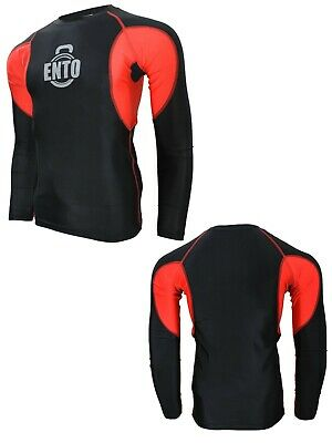 £12.99 • Buy Ento Mens Compression Base Layer Full Sleeve Top Long Sleeve Gym Sports Shirt