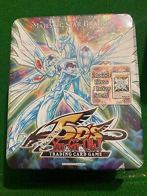 $499.99 • Buy Yugioh 5D's 2009 Majestic Star Dragon Collector's Tin RARE! SEALED!