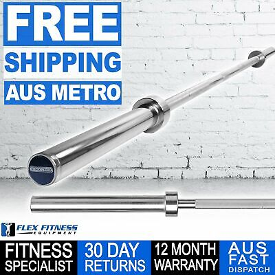 AU199 • Buy Armortech 7ft Olympic Bar Weightlifting Barbell Gym Weight Lifting Training