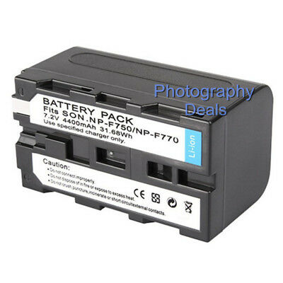 AU18.34 • Buy Replacement For Sony NP-F770 NP-F750 NP-F530 NP-F570 NP-F730 NP-F970/960 Battery
