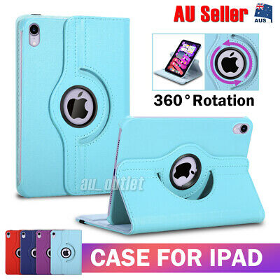 AU10.95 • Buy IPad Case Leather Cover For Apple 7th 8th 10.2 Gen Air 4th 3rd Pro 11  Mini 4 5