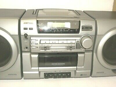 $75 • Buy Vintage Aiwa BOOMBOX Model # CA-D230OU Virtual Stereo Base Reflex Speaker System