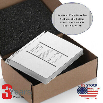 $25.39 • Buy A1175 A1260 NEW Battery For Apple Macbook Pro 15inch A1211 A1150 Laptop 5800mAh
