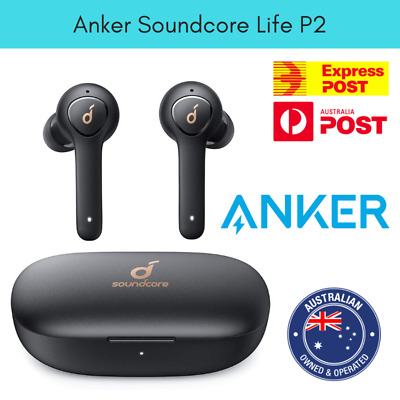 AU139.95 • Buy Anker Soundcore Life P2 True Wireless Earbuds With 4 Microphones IPX7 Waterproof